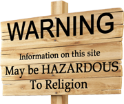 Warning. Content may be harmful to religion.